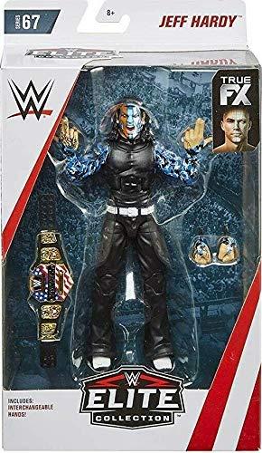 Jeff Hardy WWE Elite Figure Wrestling Mattel Series 67