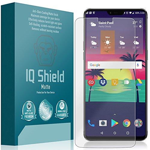 OnePlus 6 Screen Protector, IQ Shield Matte Full Coverage