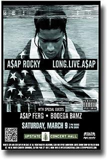 b60e55e362b3 Amazon.com  ASAP Rocky - Tyler The Creator Poster - Concert Promo ...