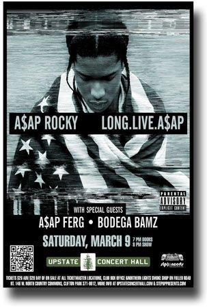 Asap Rocky Poster - Concert Promo Long. Live. A$AP Tour