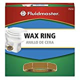 Fluidmaster 7510 Standard Wax Toilet Bowl Ring for 3-Inch and 4-Inch Waste Lines