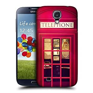 AIYAYA Samsung Case Designs Red Telephone Booth Best of London Protective Snap-on Hard Back Case Cover for Samsung Galaxy S4 I9500 by lolosakes