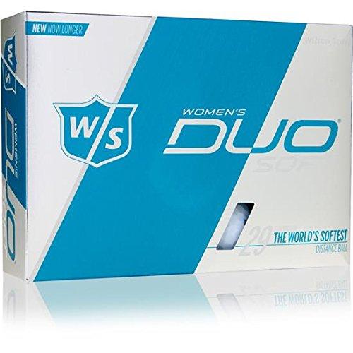 Wilson Staff Duo Soft Matte Golf Balls for Women
