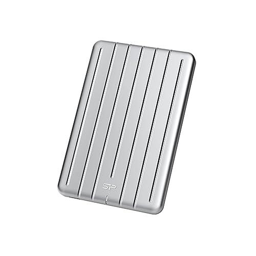 Silicon Power Bolt B75 480 GB Plata Unidades externas de Estado sólido 480 GB USB Tipo C 3 0 3 1 Gen 1 440 MB s Plata