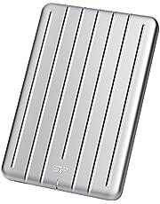 Silicon Power Bolt B75 480 GB Plata - Unidades externas de Estado sólido (480 GB, USB Tipo C, 3.0 (3.1 Gen 1), 440 MB/s, Plata)