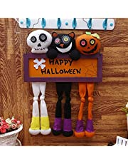 halloween Three-in-one Happy Halloween Doll Halloween Hanging Ghost Halloween Decoration Plush Doll Pendant Door and Window Decorat