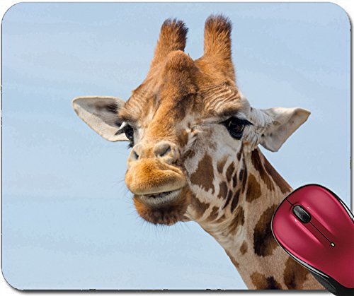 Liili Mousepad ID: 28702566 giraffe close up of - 828 Wine