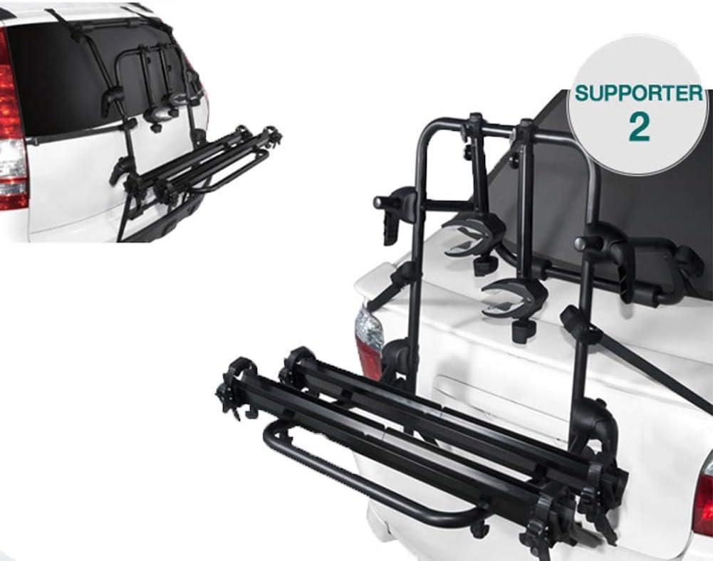 Nexbike Dach Fahrradträger Kupplungsträger Für 2 Fahrräder Auto Companion Dachfahrradträger Für Pkw Lkw Suv Schwarz Sport Freizeit