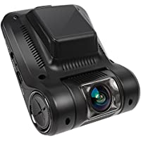 Car Dash Cam, Car Guardiance 2.4 LCD FHD 1080p 170 Degree Wide Angle Dashboard WIFI Camera Recorder with Loop Recording , Car Dashboard Camera