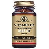 Solgar Vitamin D3 Cholecalciferol 1000 IU Tablets, 90 Count Review