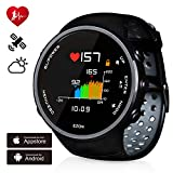 Best Gps Running Watch For Men - Smart Sports Watch with Colorful Screen Heart Rate Review