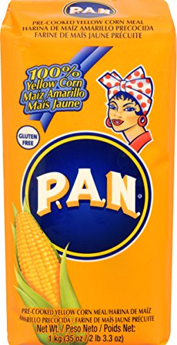 Harina P.A.N Pan Pre-Cooked Yellow Corn Meal, 35 (Harina Pan)