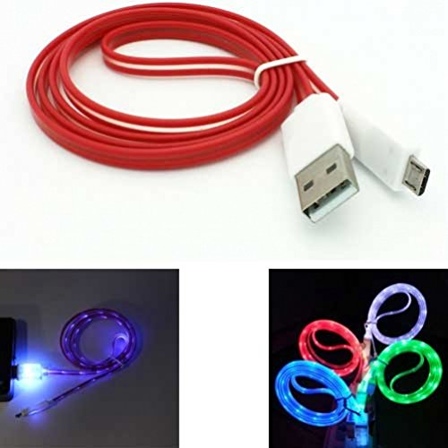 coiled usb cable red - 7