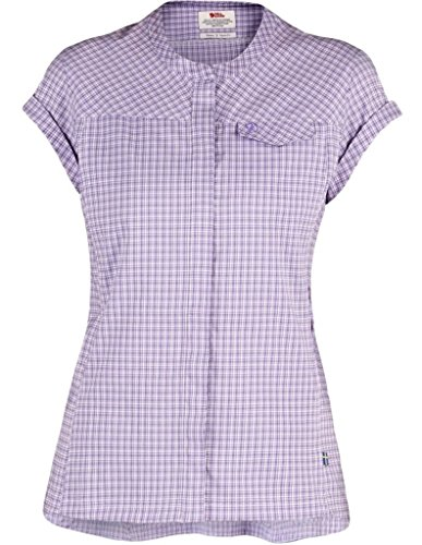 Fjallraven Abisko Stretch SS Shirt - Women's Orchid Large by Fjallraven