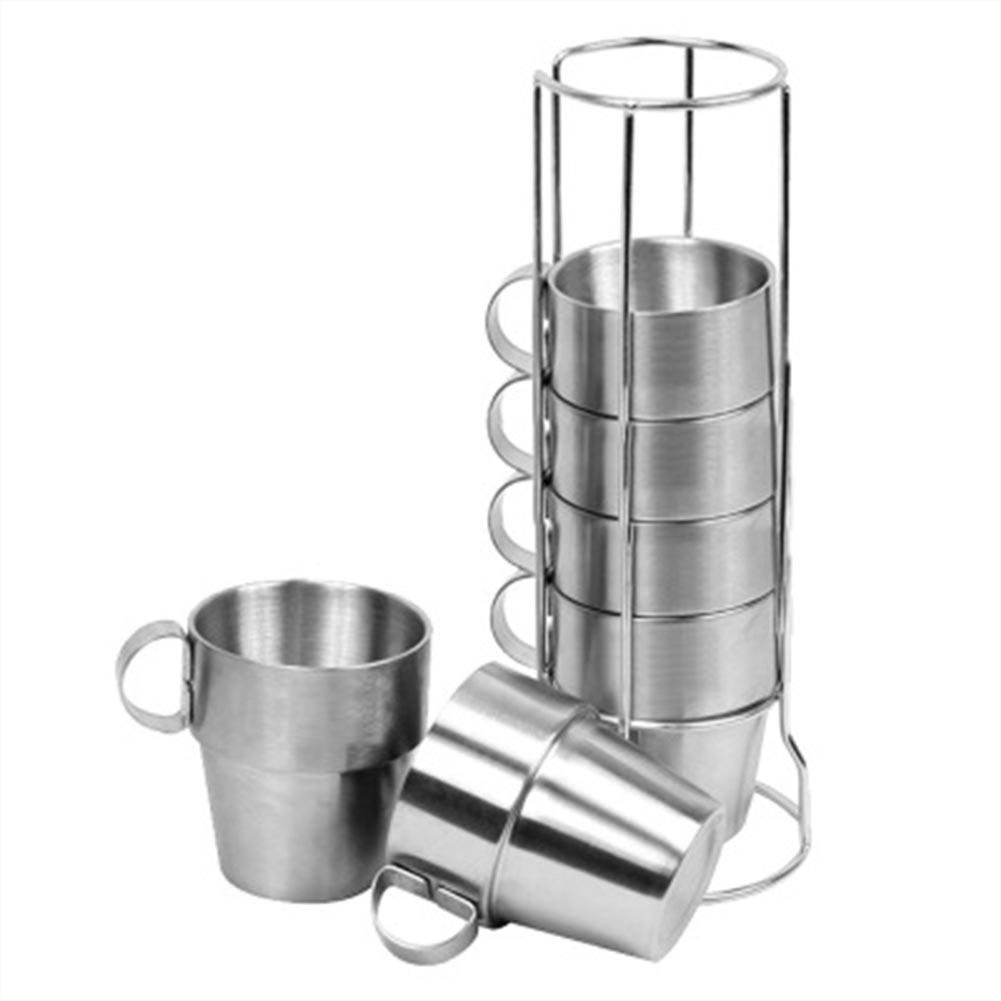 Xiaolimou Edelstahl Trinkbecher Outdoor nicht-magnetischen 0.75 Liter doppelt anti-hot -