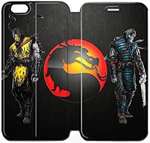 Flip Folio Leather Case for iPhone 6 plus 5.5 inch Cell Phone Case Mortal Kombat HPM4628523