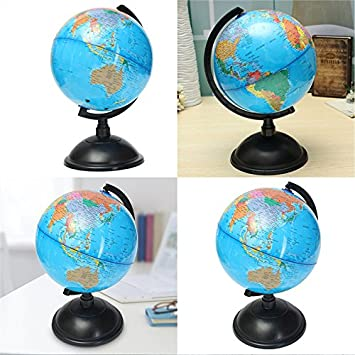 20cm blue ocean world globe map with swivel stand geography 20cm blue ocean world globe map with swivel stand geography educational toy gift gumiabroncs Image collections