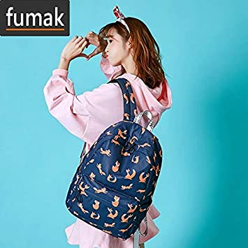 Amazon.com: Laptop Backpack - Cute Animal Fox Printing ...