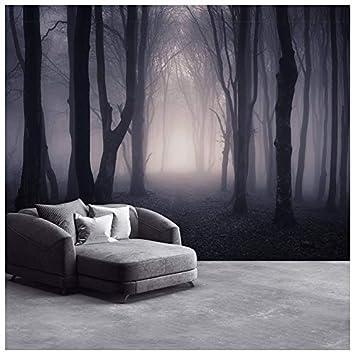 Azutura Dunkles Misty Woods Fototapete Wald Und Bäume Tapete Schlafzimmer  Haus Dekor Erhältlich In 8 Größen