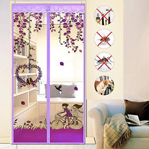ZYLHC Magnetic Screen Door, Suitable for Doors Up to 39