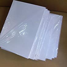 """Water Transfer Paper Clear A4 Size ( 8.5"""" x 11"""") 20 Sheets Water Transfer Slide Decal Paper Water Transfer Paper Inkjet Water Transfer Paper Transparent Clear for Inkjet Printer"""