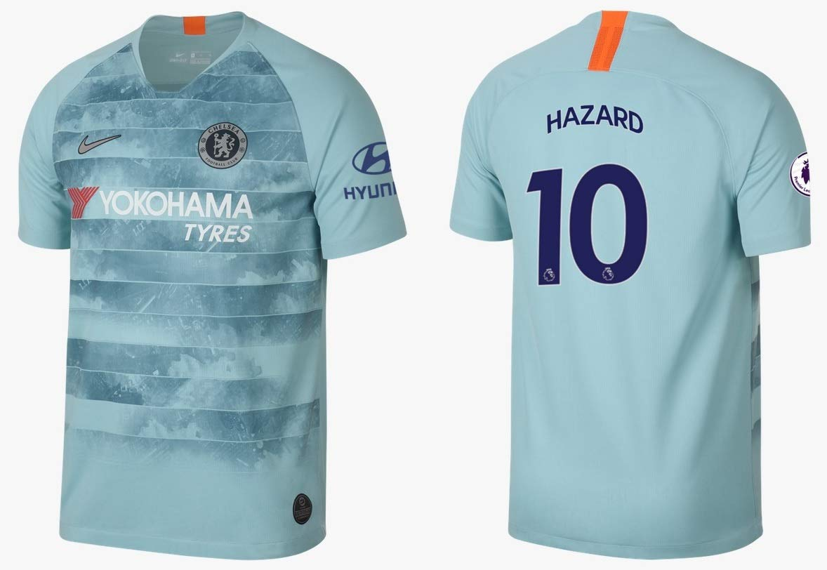 FC Chelsea Trikot Kinder 2018-2019 Third PL - Hazard 10
