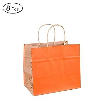 Jia Hu 8pcs grandes bolsas de papel gamuza de bolsa de ...