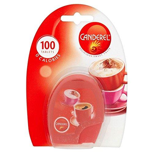 Slim Sweetener Sweet (Canderel Sweetener Tablets (100 per pack) - Pack of 2)