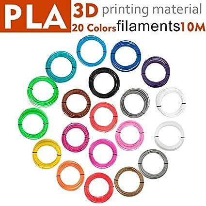 Amazon.com: TreeMart 3D Printer Filament Impresora 3D PLA ...