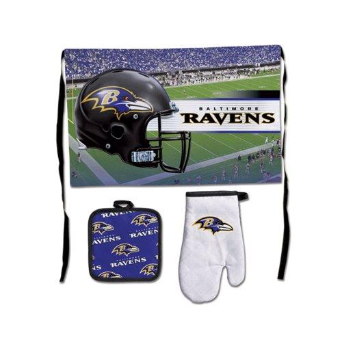WinCraft NFL Baltimore Ravens Barbeque Tailgate Set-Premium