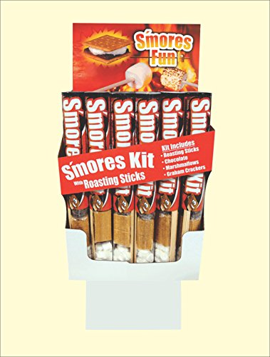 Funnel Case Pack (Fun Pack Foods ~ S'mores Kits in Tube - Display Shipper (18/case))