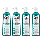 Curél Hydra Therapy Wet Skin Moisturizer for Dry & Extra-Dry Skin, 12 Ounces (Pack of 4)