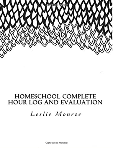 Homeschool, Hour Log, Evaluation, Missouri, Planner, Log book, Journal