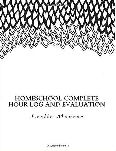 Homeschool, Hour Log, Evaluation, Missouri, Planner, Log book, Journal