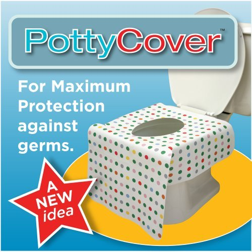 primo folding potty with handles white
