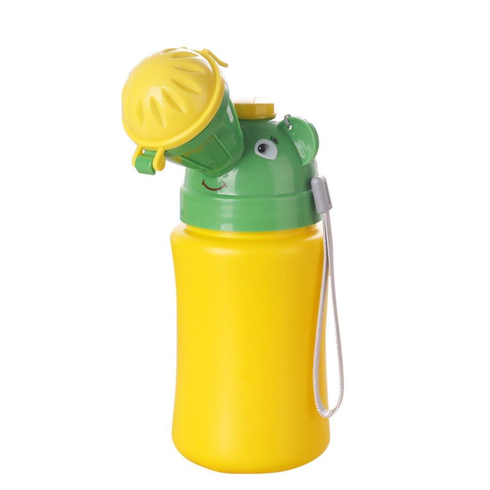 Port/átil Beb/é Ni/ño Viaje Emergencia Potty Pee Pot Car Potty Orinal Botella Taza entrenamiento Chicas