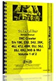 img - for Caterpillar D6C Crawler Service Manual (CT-S-D6C 10K1+) book / textbook / text book