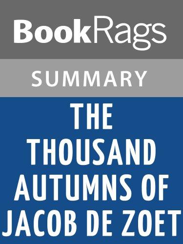 Summary & Study Guide The Thousand Autumns of Jacob de Zoet by David Mitchell (The 1000 Autumns Of Jacob De Zoet)