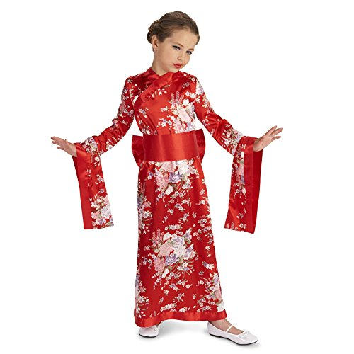 Red Angel Costumes (Kimono Child Costume M (8-10))
