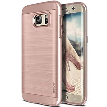 galaxy s7 edge case obliq slim meta rose gold slim fit premium