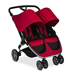 The B-Agile Double Stroller gives you the freedom to get where you need to go. The B-Agile Double Stroller will not weigh you down thanks to its lightweight aluminum frame. Designed with multi-tasking parents in mind, the quick fold design ma...