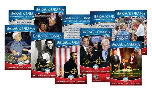 Commemorative Poker Set (BARACK OBAMA Life & Times 44-CARD SEALED COMPLETE Gold Signature SET (ONE SET))