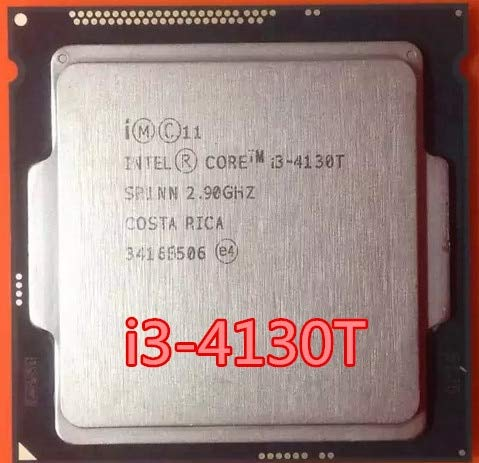 Cailiaoxindong Core I3 4130T i3-4130T Dual-Core 2.9GHz LGA 1150 TDP 35W 3MB Cache i3-4130T CPU Processor in Stock ()