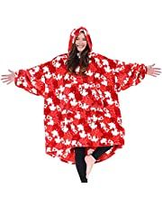 THE COMFY Dream   Oversized Light Microfiber Wearable Blanket, One Size Fits All, Seen on Shark Tank