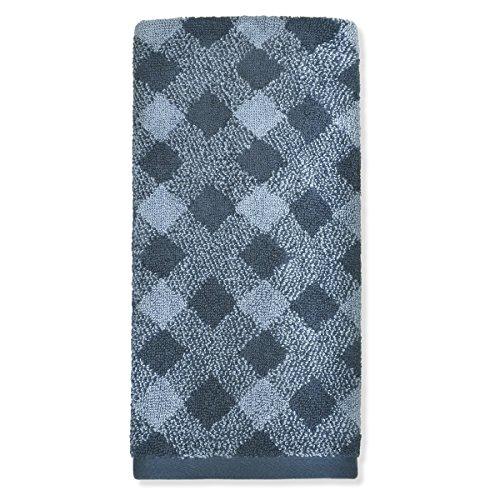 Peri Home Easton Hand Towel, 100Percent Cotton, Navy, 15
