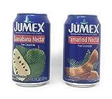 as tamarind fruit - Jumex 12 Pack Guanabana and Tamarind Fruit Nectar Bundle: 6 Cans of Guanabana and 6 Cans of Tamarind