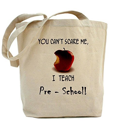 Cafepress no Scare pre-school Teacher Tote bag – standard multi-color by Cafepress