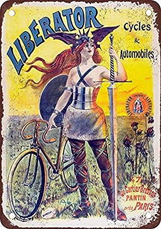 Tengss 1903 Liberator - Cartel de Metal con diseño de ...