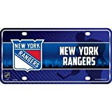 Smart Blonde New York Rangers NHL Embossed Novelty Vanity Metal License Plate Tag Sign - 7002M