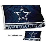 Cheap WinCraft Dallas Cowboys Double Sided Allegiance Flag